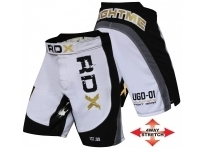 RDX MMA Shorts - Golden White